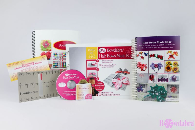 Mini Bowdabra - Hair Bow Making Tools & Ruler Kit