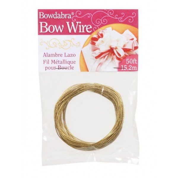 Bowdabra Gold Bow Wire